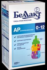 Молочные смеси Беллакт Смесь сухая молочная антирефлюксная АР 400 г