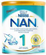 Молочные смеси NAN Заменитель Премиум 1 с рождения 800 г